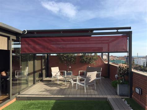 toldos de aluminio cerramiento terraza iserma