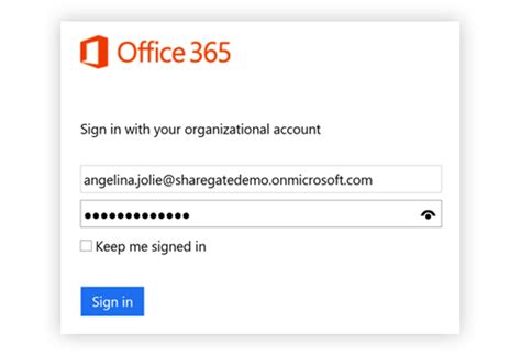 Office 365 Sign In With Your Organizational Account by Migrating To Office 365 Active Directory Sharegate