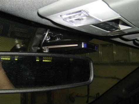 radar detector wiring installation