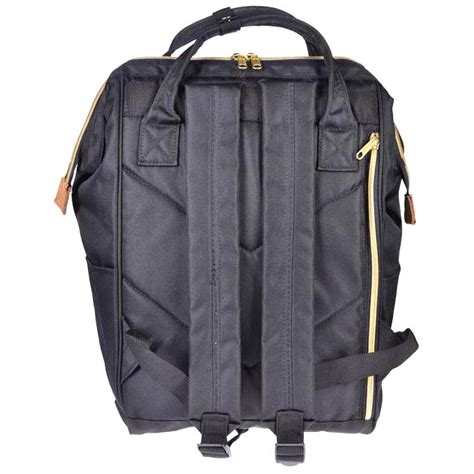 Tas Ransel Anello Handle Oxford Cloth Backpack Hitam L anello tas ransel oxford 600d size l khaki