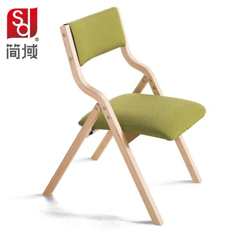 Folding Wood Dining Chairs Domain Folding Chairs Wood Dining Chair Fabric Fashion Study Computer Session
