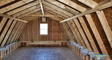 gambrel roof garages one car two story garage two story prefab garages