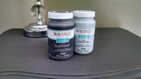 waverly chalk paint review a side table makeover