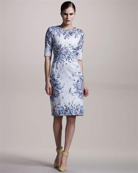 erdem floral print cotton dress lyst