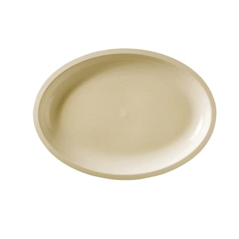 Plate Oval By Abie Kitchenware promo catering disposable plastic oval plate large