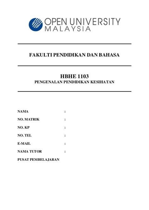 format assignment oum sle assignment pk