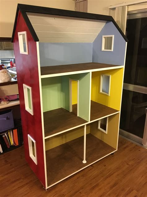 doll house project ana white dollhouse diy projects