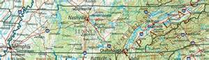 map of and tennessee tennessee reference map