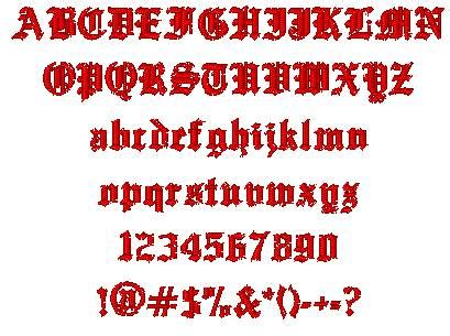 tattoo fonts generator old english tribal you font generator