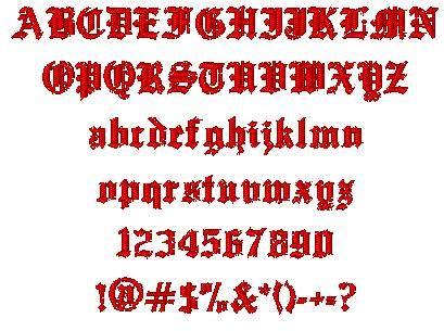 tattoo fonts generator old english tribal you font generator