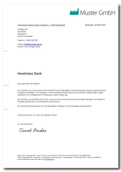 Vorlage Moderner Brief Gesch 228 Ftsbrief Vorlage Muster F 252 R Verschiedene Anl 228 Sse