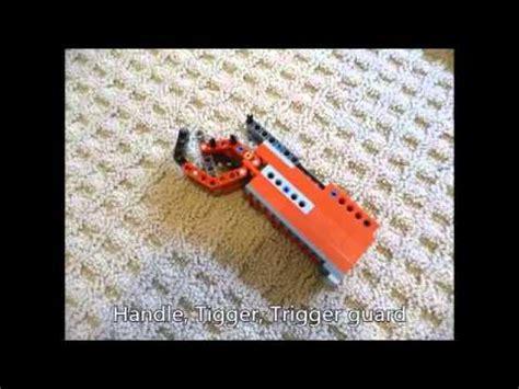 lego sniper tutorial lego custom sniper rifle instructions part 1 2 working