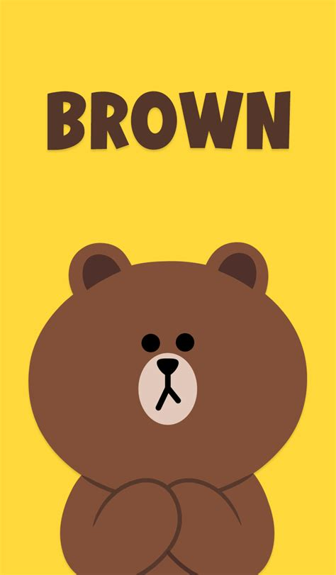 Line Friends Brown line wallp buscar con wallpapers