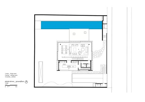 Cube House Floor Plans by Cube House Studio Mk27 Marcio Kogan Suzana Glogowski