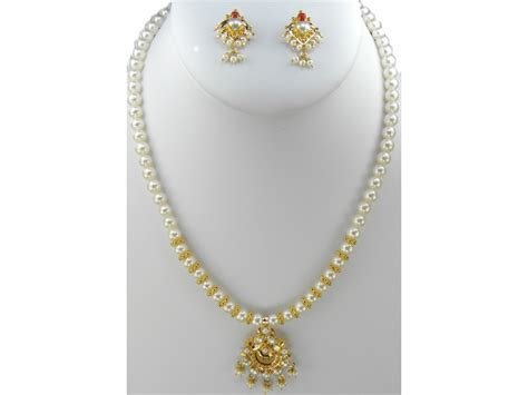 pearl necklace design gold with pearl necklace designs for trendy