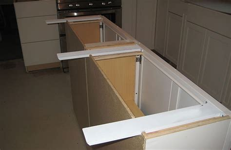 kitchen island brackets countertop supports for islands are hidden and simple to