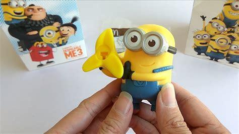 Mainan Despicable Me 3 Minion Banana Launcher Minions No10 Mcd mcdonald s happy meal despicable me 3 banana launcher minion 2017