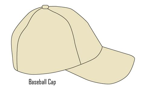 baseball cap template vector baseball cap template free vector