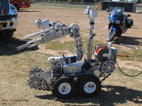 are domestic robots closer than we think techrony remote controlled rc bombs for domestic law enforcement