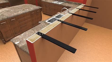 Supports For Granite Countertops by Granite Brackets Granite Countertop Support Brackets For
