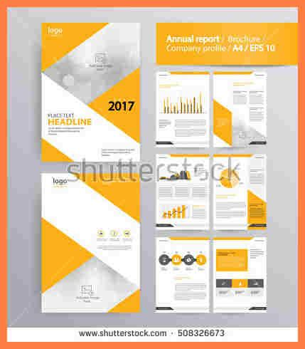 company profile design template word 4 it company profile template company letterhead