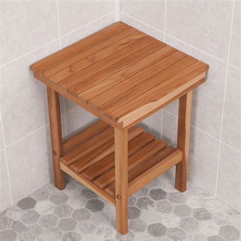 small teak shower bench small corner teak shower stools montserrat home design