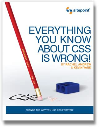 everything you know about css is wrong qweos