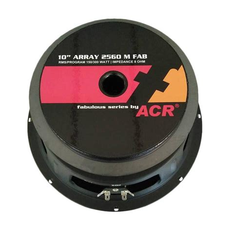 Speaker Acr Pro 10 Inch jual acr fabolous array ceiling speaker 300 w 10 inch harga kualitas terjamin