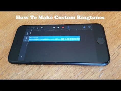how to make custom ringtones on iphone 7 iphone 7 plus no computer no jailbreak fliptroniks