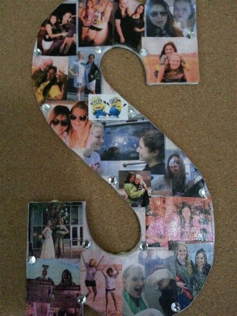 Handmade Photo Collage Ideas - diy picture collage idea for college crafty