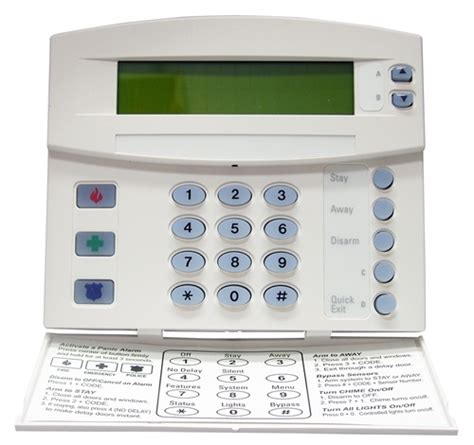 ge security atp1000 alphanumeric touchpad