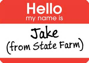 State Farm Quot Jake From State Farm Quot Stickers By Marc Bublitz Redbubble