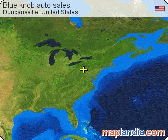 blue knob auto sales duncansville satellite map