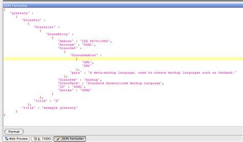 json template invalid json format phpsourcecode net