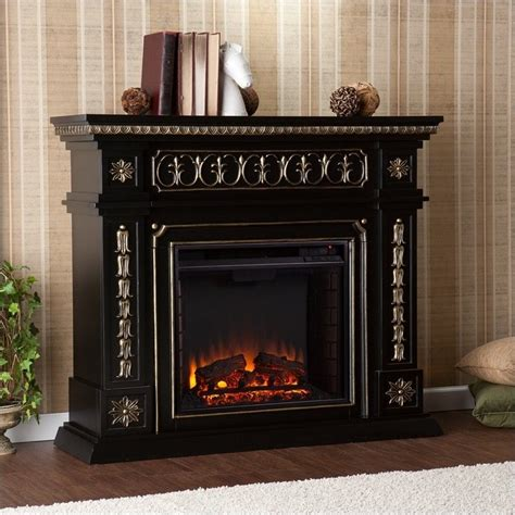 southern enterprises electric fireplaces southern enterprises donovan electric fireplace in black