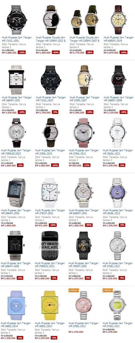 Harga Jam Tangan Merk Hush Puppies 14 best images about koleksi jam tangan terbaru on