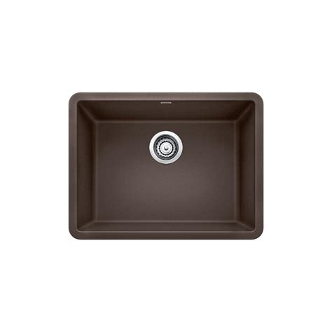 Blanco Precis Undermount Granite Composite 24 In Single Kitchen Sink Cafe