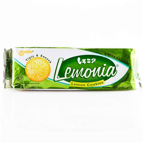 Nissin Lemonia Cookies harga jual biskuit kaleng di borma crispy crackers