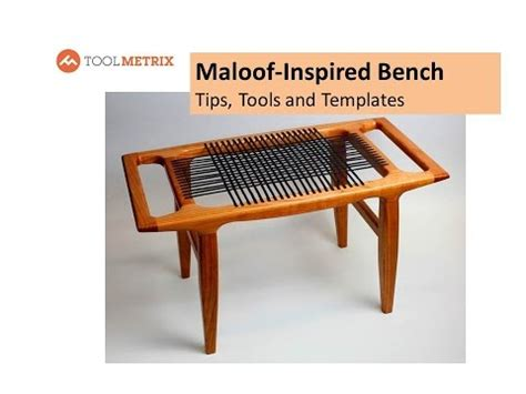 tips for benching diy sam maloof inspired leather bench tips tools