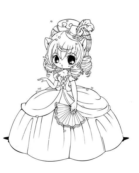 dibujos kawaii para colorear online mangas para colorear y divertirte
