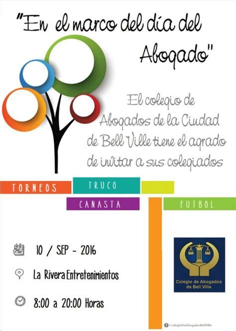 Arancel Para Abogados Del Ao 2016 | cronograma festejos d 205 a del abogado a 209 o 2016 colegio de