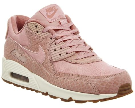 pink pattern air max nike air max womens air max 90 pink glaze basket weave