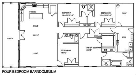 easy floor plans easy barndominium floor plans cad pro