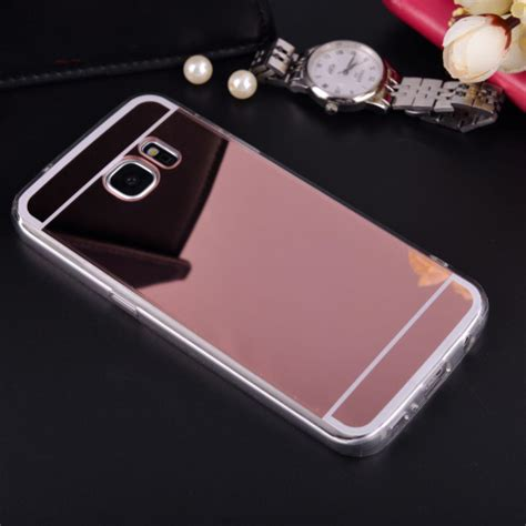 Softcase Plus Mirror Samsung J7 mirror soft tpu back cover for samsung galaxy j1 j5 j7 a3 a5 a7 2016 j3 a8 s3 s4 s5 s6 s7