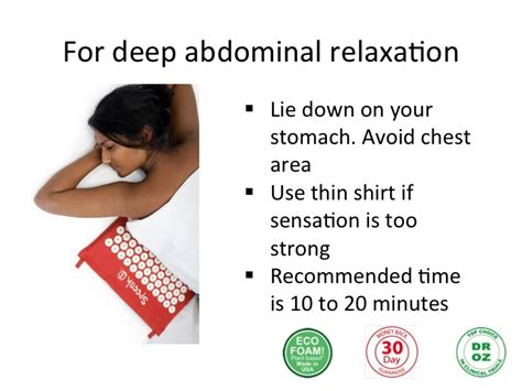 How To Use Spoonk Mat by Spoonk Acupressure Mat