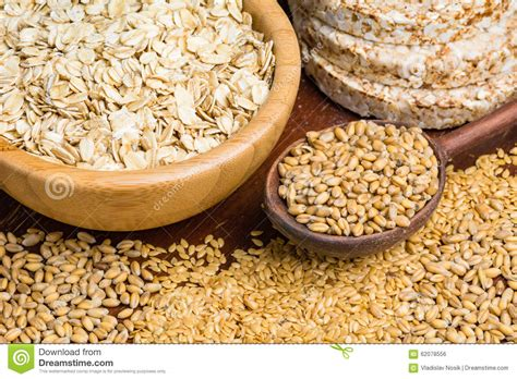 whole grains a z healthy food grains and seeds stock photo image 62078556