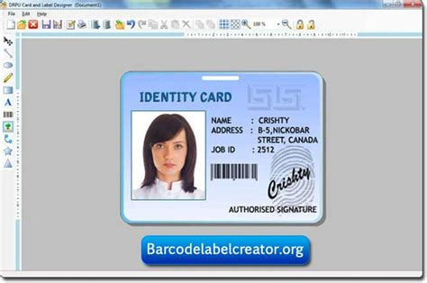 Identification Card Ellie Island Template by Siteground Web Hosting