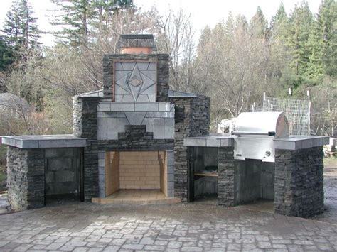 outdoor fireplace grill outdoor fireplace with grill pit