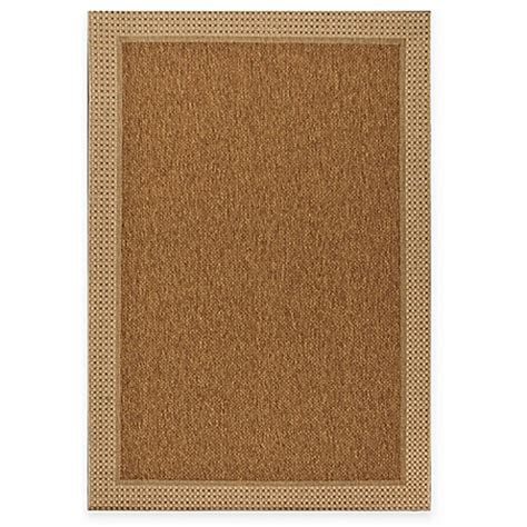 miami sisal indoor outdoor rug in tan bed bath beyond