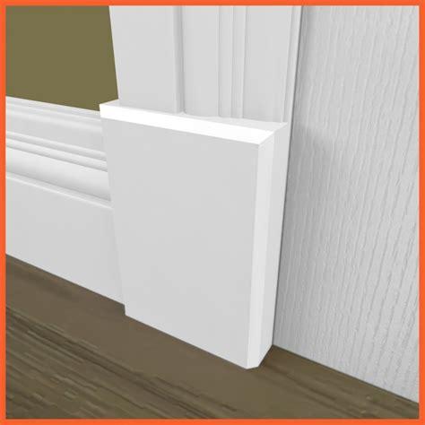 Modern Baseboard Styles by Edge Plinth Block Skirting 4 U